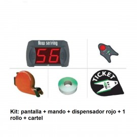 KIT Pantalla indicadora de turnos SPIT-9-MD