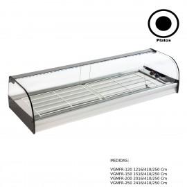 Vitrina de barra para tapas Encastrable. VGMFR-120