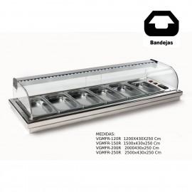 Vitrina de barra para tapas Encastrable VGMFR-120R