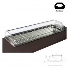 Vitrina de barra para tapas Encastrable VGCST-120 R