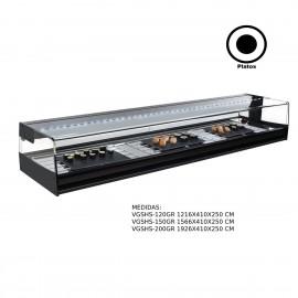 Vitrina refrigerada sushi Remota VGSHS-120GR