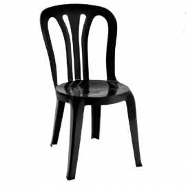 silla de plastico apilable REECOGARROTXA