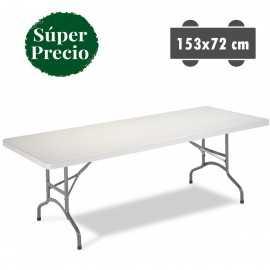 Mesa rectangular de catering 3R11 (153 x 72 cm)