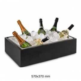 Enfriador de botellas de cava madera PUP904.155