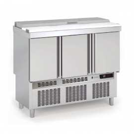 Mesas frias para ensaladas tapa INOX COMFS-140