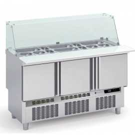 Mesa de ingredientes Kebab 1.4m COMFK-140