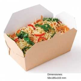Envases comida para llevar 250uds NIDM173