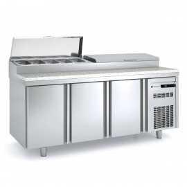 Mesa ingredientes para pizza COMFEI80-200