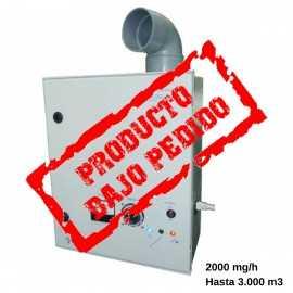 Generador ozono Campanas de extraccion NECAMPANAS