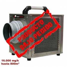 Cañon de ozono NECAÑON16000-PRO hasta 800 m² Bajo pedido