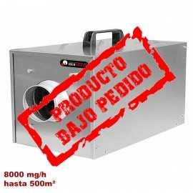 Cañon de ozono NECAÑON8000 hasta 500 m² Bajo pedido