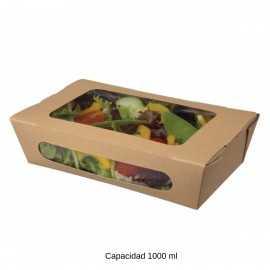 Envases para ensaladas desechables NIFA3