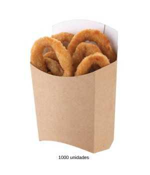 Envases de carton para patatas fritas