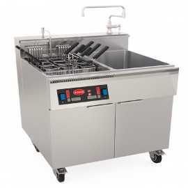 Cuece pastas industrial con Enfriador RECP85RT