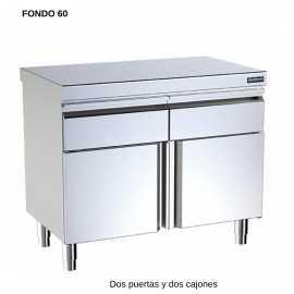 Mueble neutro F60 2 puerta central DIF00791