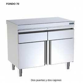 Mueble neutro F70 2 puerta central DIF00791-0