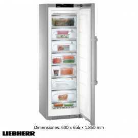 Congelador vertical Ventilado INOX FGSGNes 4375