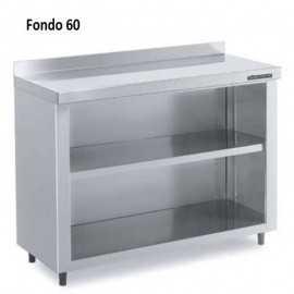 Contramostrador, Inox Fondo 60 DIF3010005