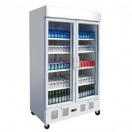 Armario expositor refrigerado 1030L EDAPE-902-C HC