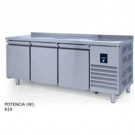 Mesa congelador 3 puertas PHCTS440NCR