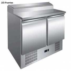 Mesas frias para ensaladas INOX PHPS