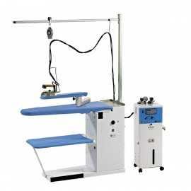 Centro de planchado profesional BANETTUNO98-MX con generador vapor