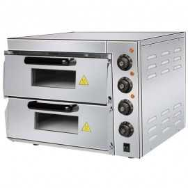 Horno pizza doble PHPDK40
