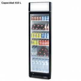 Expositor refrigerado con marco 410L PHCS410SB