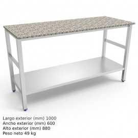Mesa de trabajo cocina Encimera Granito FR076858
