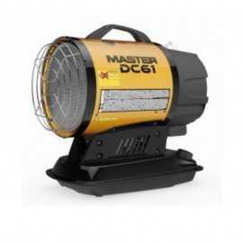 Cañon de calor gasoil y batería ECDC 61
