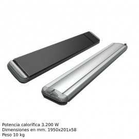 Estufa profesional Calor radiante ECDARK 32