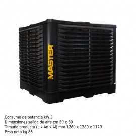 Climatizador evaporativo fijo 50L ECBCM31