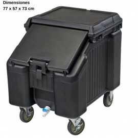 Carro para hielo 2 ruedas giratoria DBICS100L