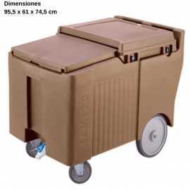 Carro para hielo Ruedas 25cm DBICS175LB