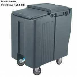 Carro para hielo Rueda Freno DBICS175T