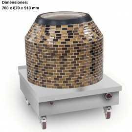 Horno tandoori Mosaico NTTDM-26S