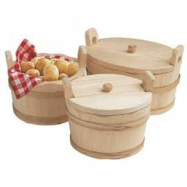 Cubo para patatas Madera TESEP-OC
