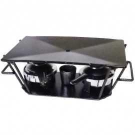 Plancha de mesa para carne Base Metal TEPLAN02
