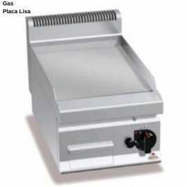 Plancha cromo duro a Gas 30cm RMG6FL3B/CR