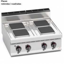 Cocina industrial electrica RME7P4