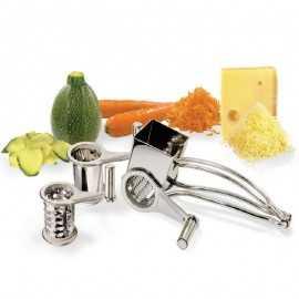 Rallador queso manivela y Verduras TEN3010