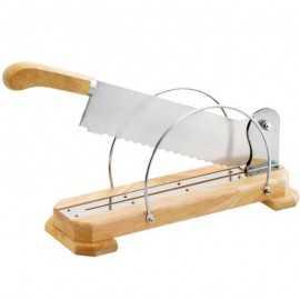 Cortadora de pan madera 35cm TEN7004