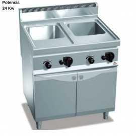 Cuece pastas a gas 60L RMCPG80E