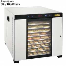 Deshidratador de alimentos INOX NICS950