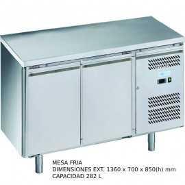 Mesa fria 2 puertas DUG-GN2100TN-FC