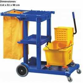 Carro de limpieza profesional DUCA 1606E