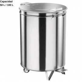 Cubo basura acero inox DUAV466