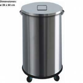 Cubo basura acero inox 63L DUAV4671