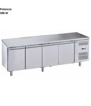 Mesa refrigerada Cuadruple 95(H) DUG-GN4200TN-FC