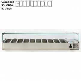 Vitrina de ingredientes 200cm DUVRX2000-330